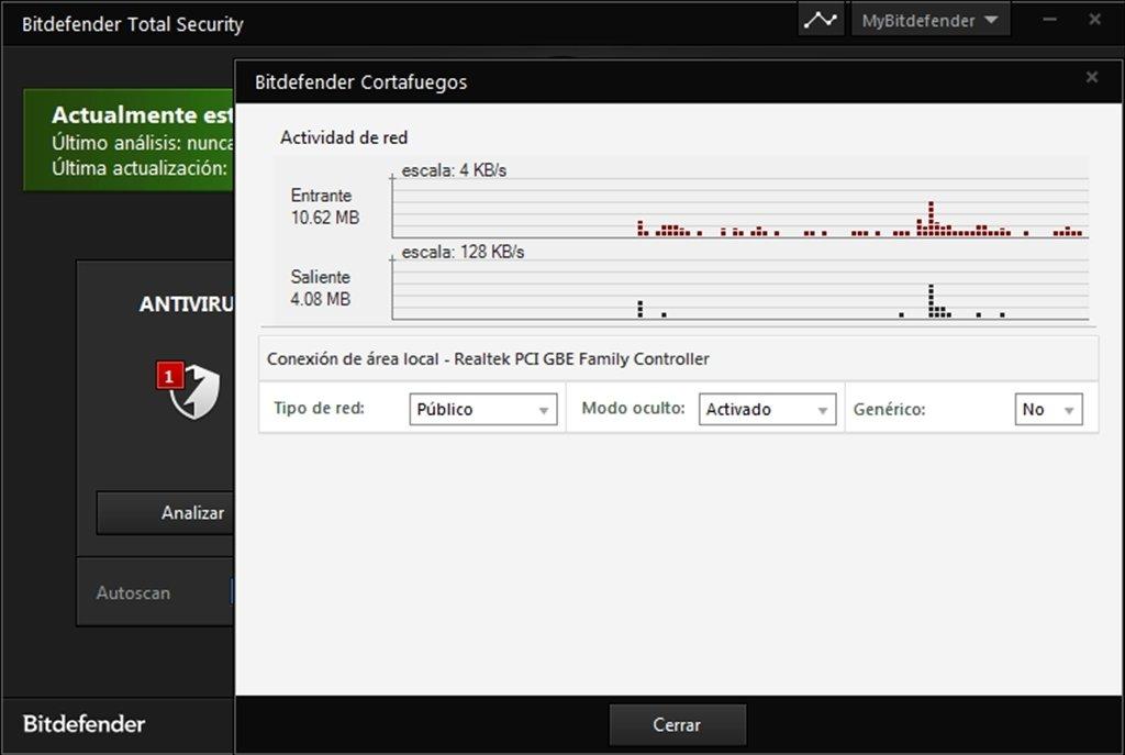 Bitdefender total security 2013 scan