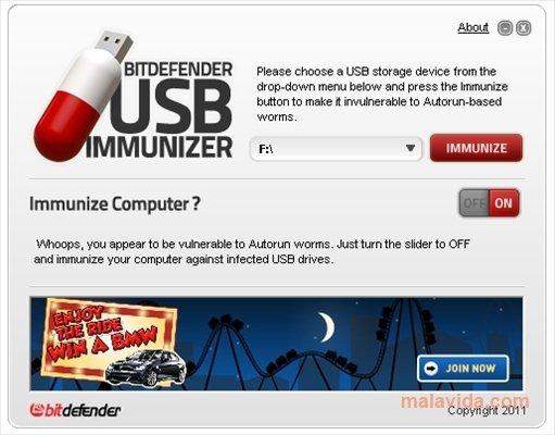 BitDefender USB Immunizer image 3
