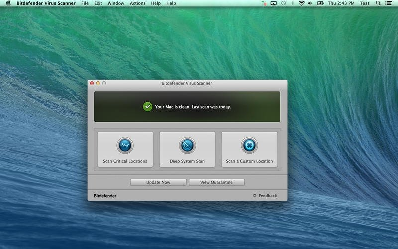 Bitdefender Virus Scanner Mac image 5