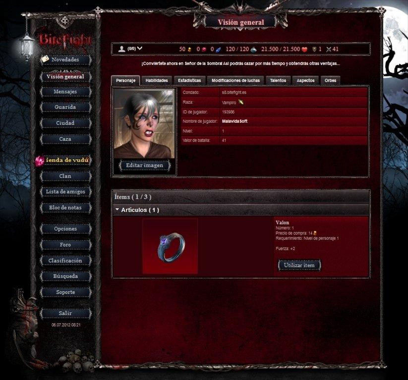 jeux bitefight gratuit