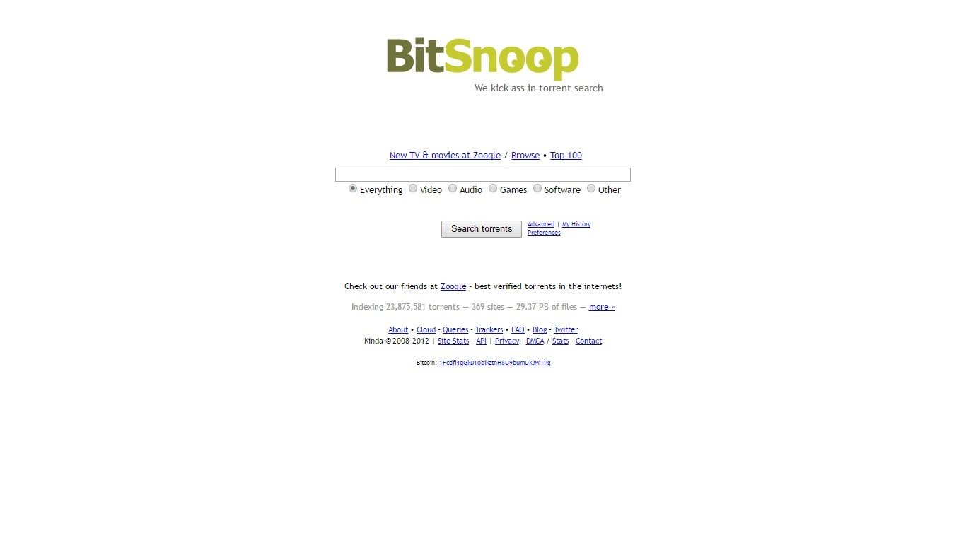 Alternatives To Bitsnoop