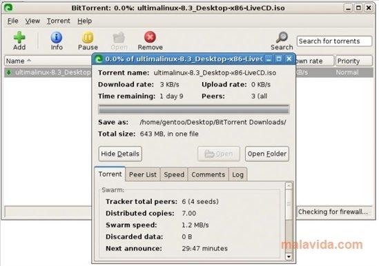 BitTorrent Linux image 2