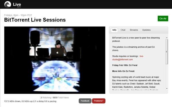 BitTorrent Live image 4