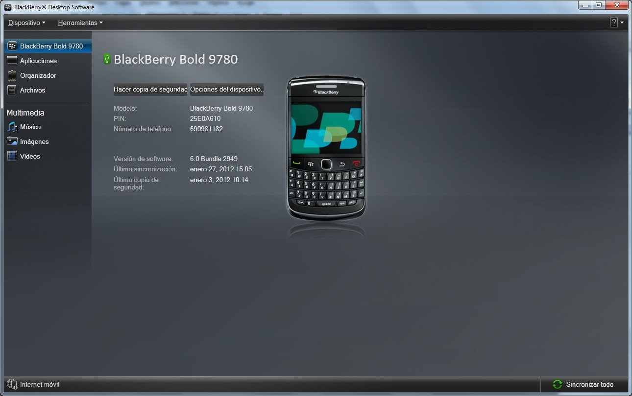 blackberry desktop manager 7.1.0.42