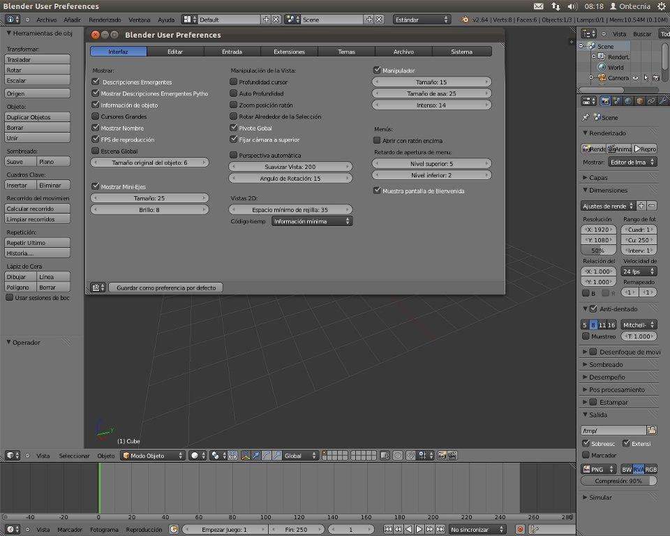 Blender download per linux gratis for Miglior programma grafica 3d