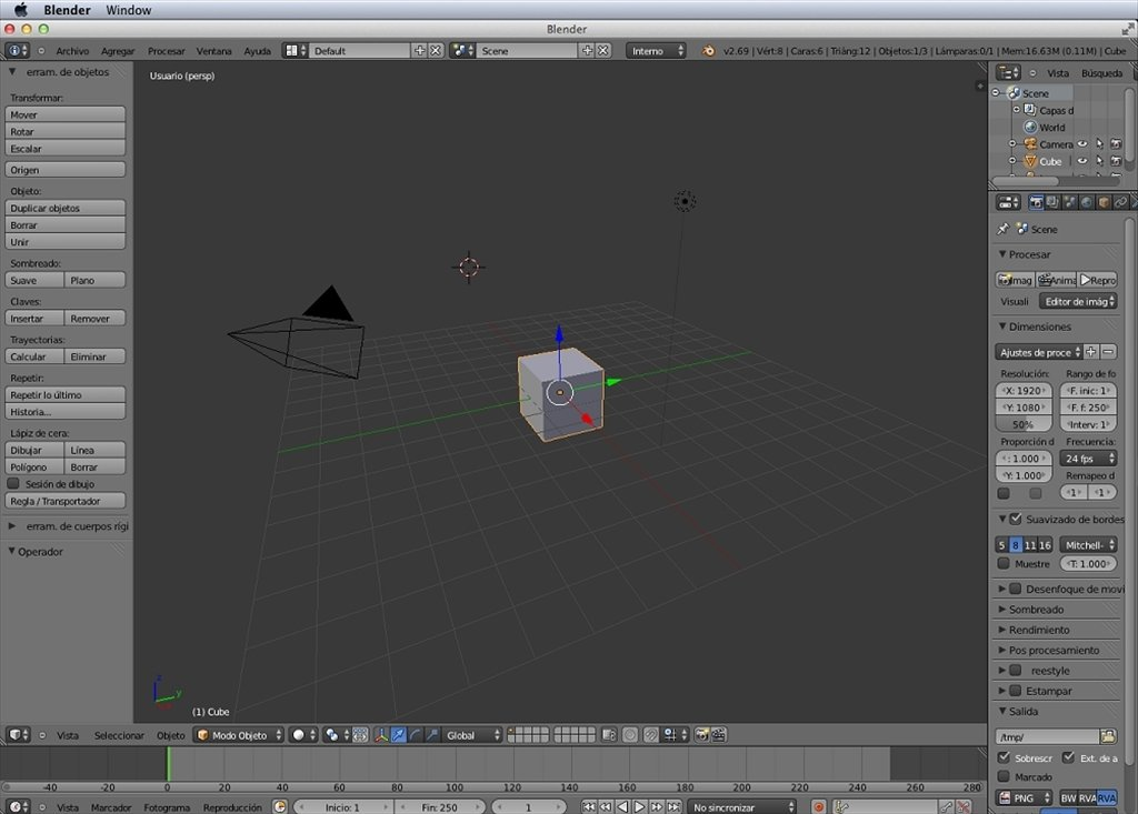 Blender Mac image 5