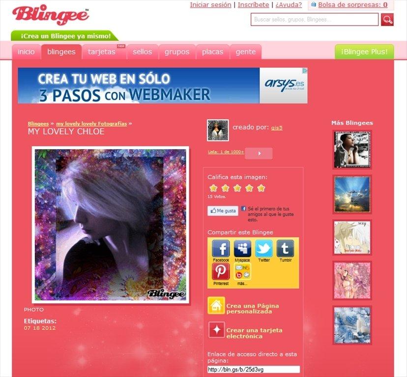 Blingee Webapps image 4