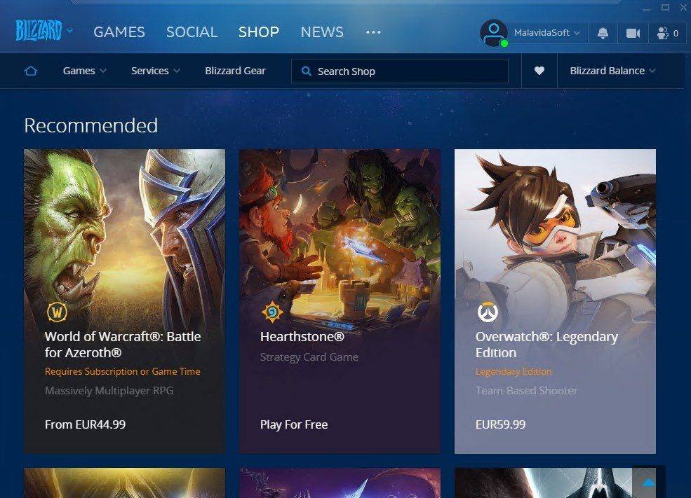 Blizzard Battle net 1 16 3 - Download for PC Free