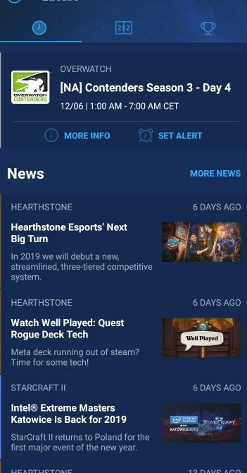 Blizzard eSports 1 2 0 - Download for Android APK Free