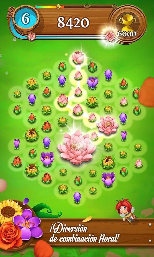 Blossom Blast Saga Android image 5