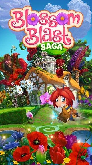 Blossom Blast Saga iPhone image 5