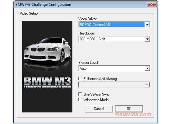 bmw m3 challenge game free download