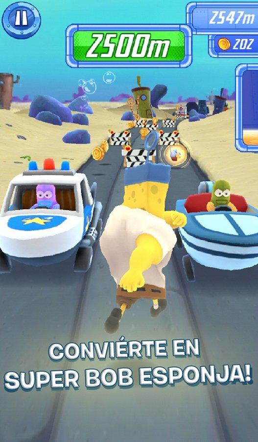 Игра губка боб большие гонки на андроид губка боб квадратные штаны возлюби ближнего своего игра