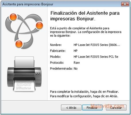 Bonjour For Windows Print Services 2 0 2 0 Descargar