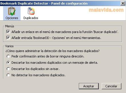 Bookmark Duplicate Detector image 3