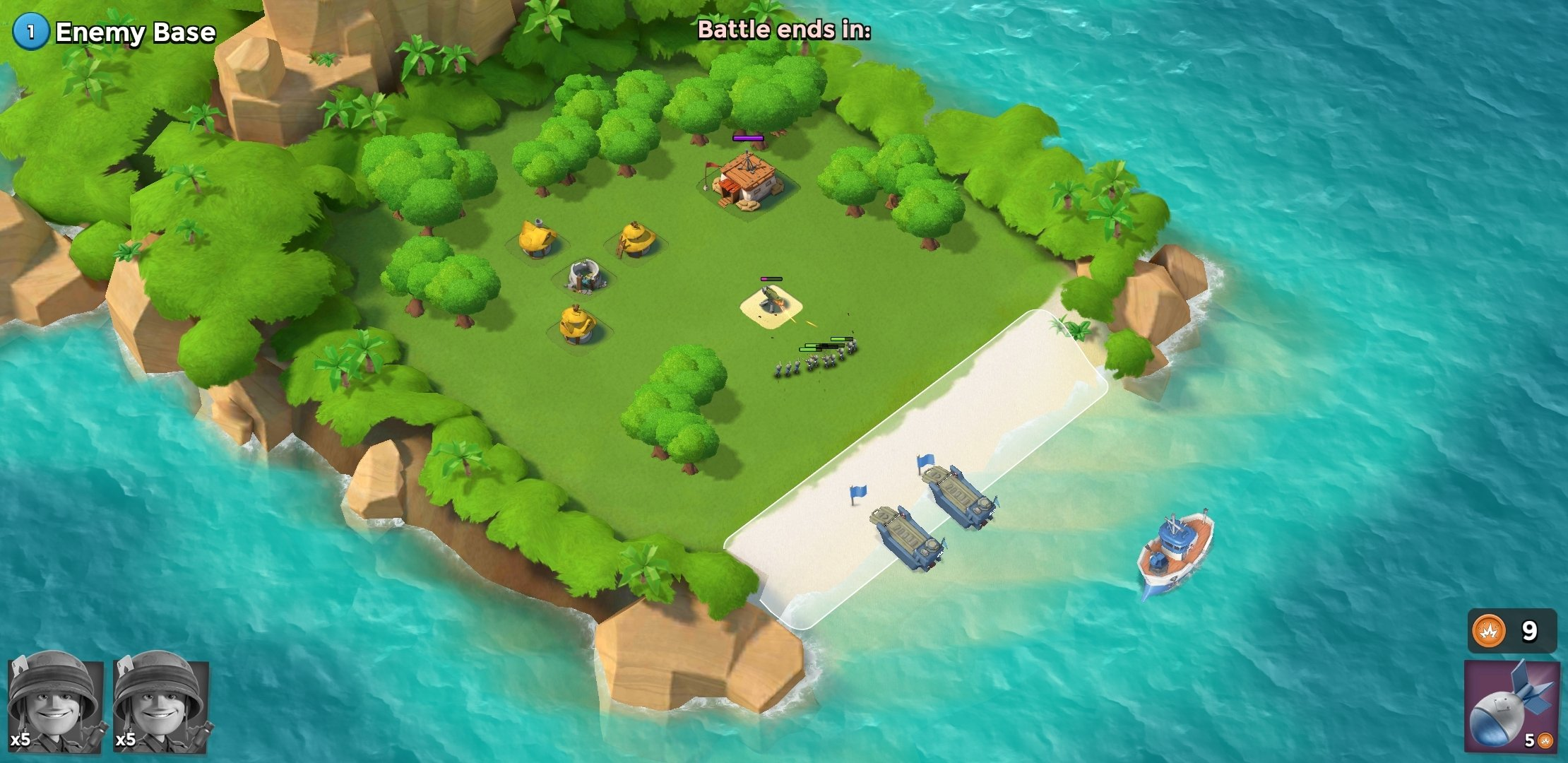 Boom Beach Android image 7