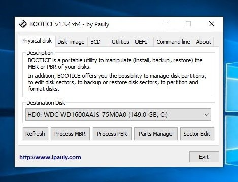 Bootice 1 3 4 0 - Download for PC Free