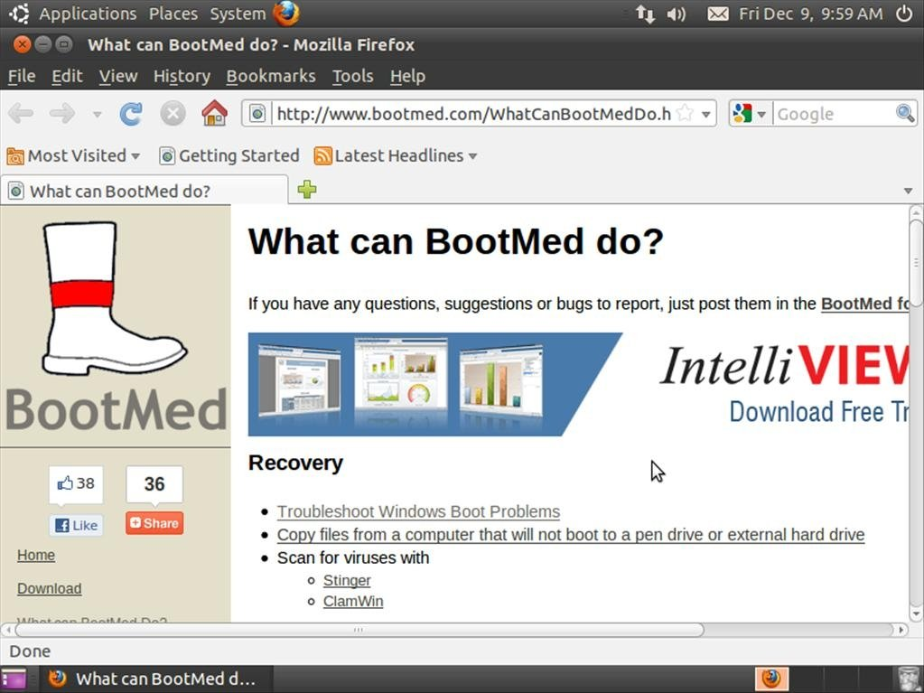 BootMed 1 0 - Download for Linux Free