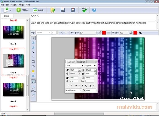 Boxoft Screen Tutorial Creator image 6