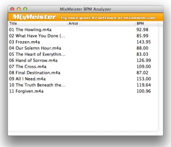 BPM Analyzer 1 0 1 - Download for Mac Free