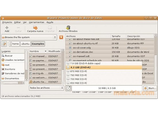 Brasero Linux image 3