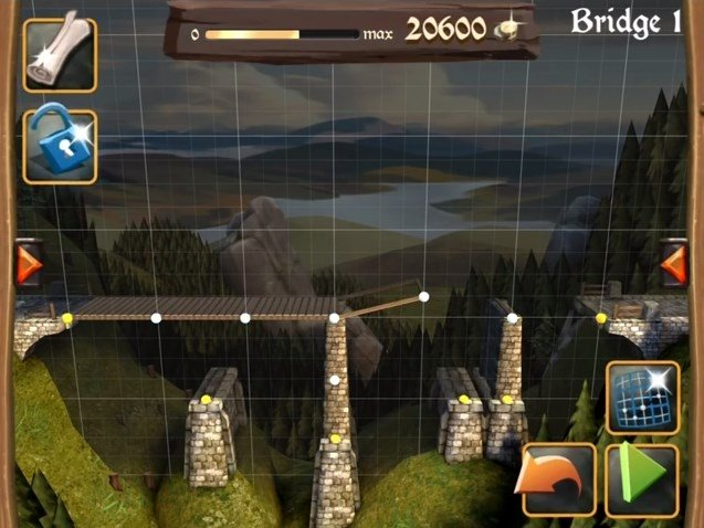 Bridge Constructor Medieval Android image 5