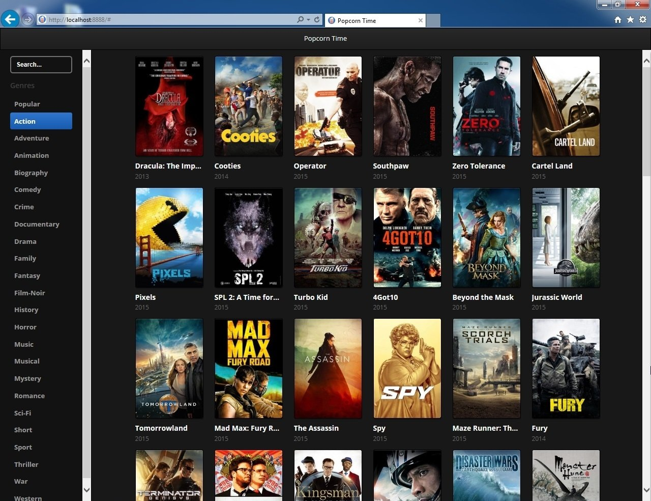 Browser Popcorn image 5