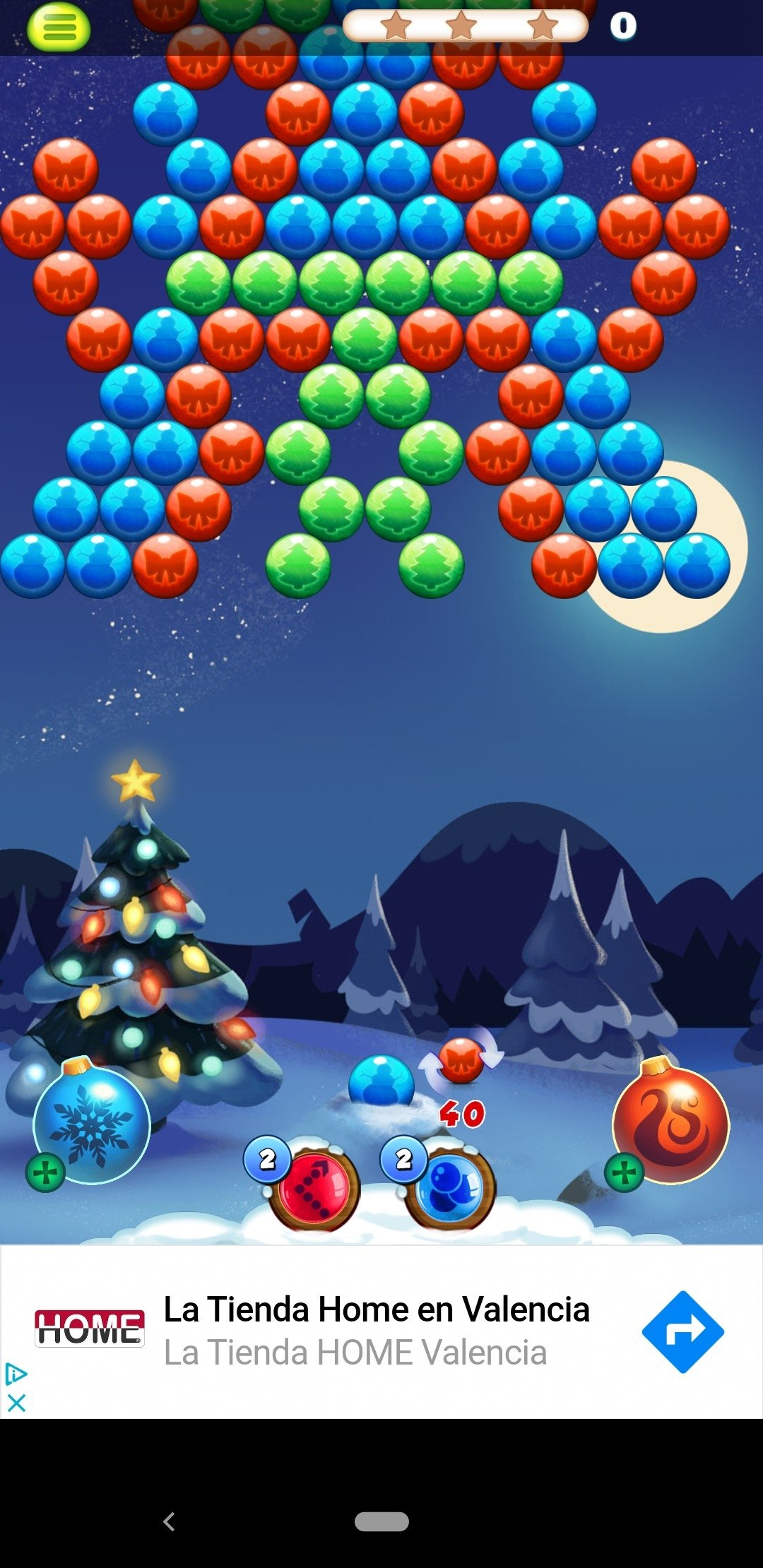 Bubble Shooter: Christmas Day Android image 4