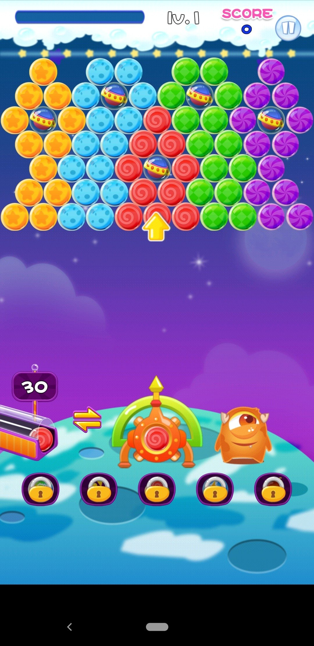 Bubble Shooter Galaxy Android image 5