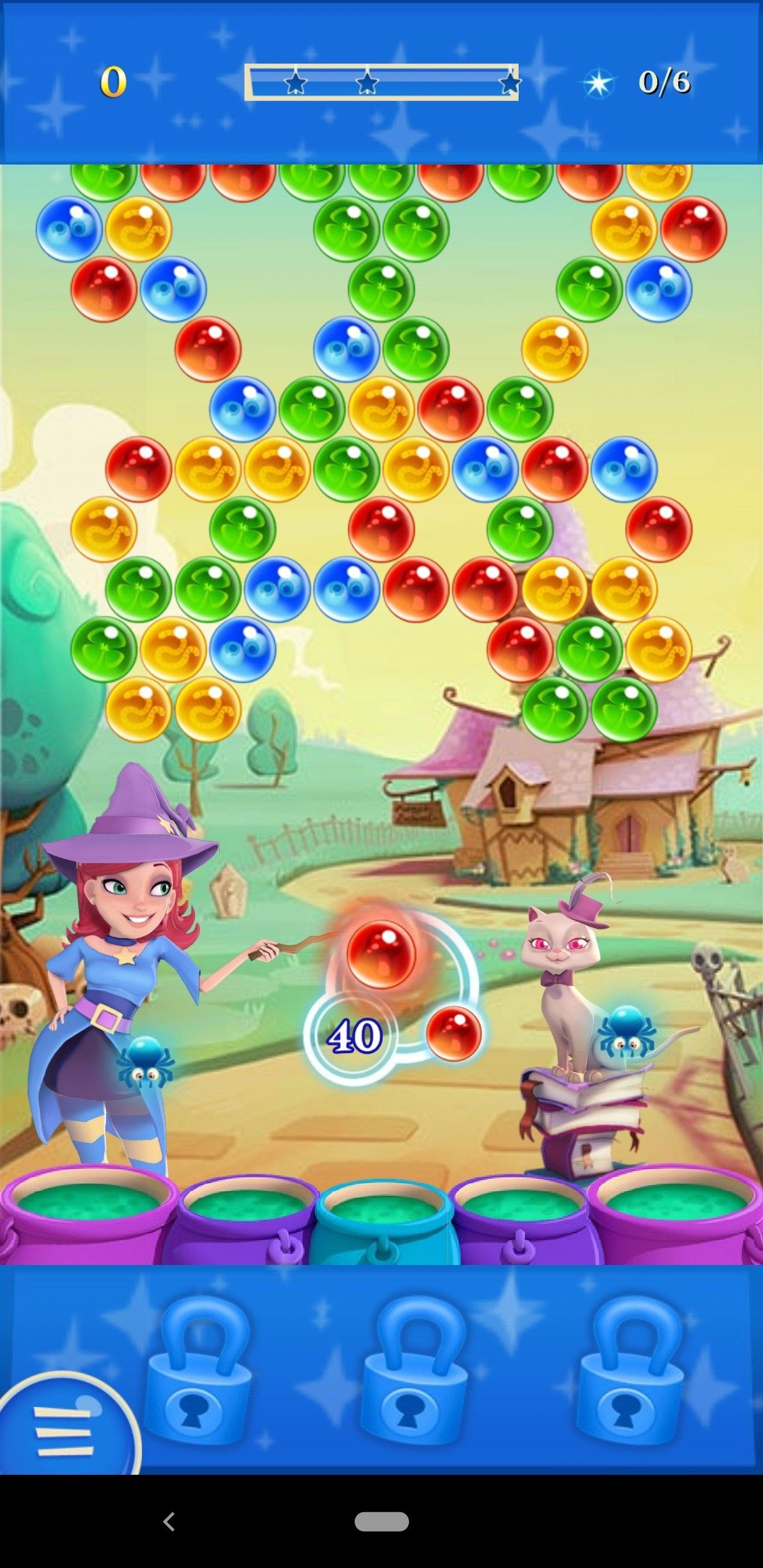 Bubble Witch 2 Saga Android image 5