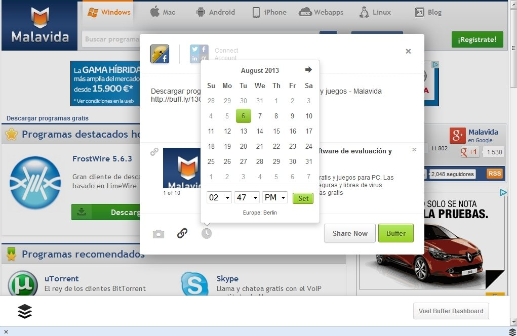 Buffer 2 2 25 - Download for PC Free