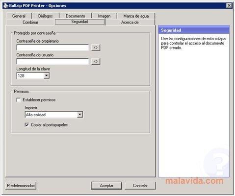 gratuitement bullzip pdf printer