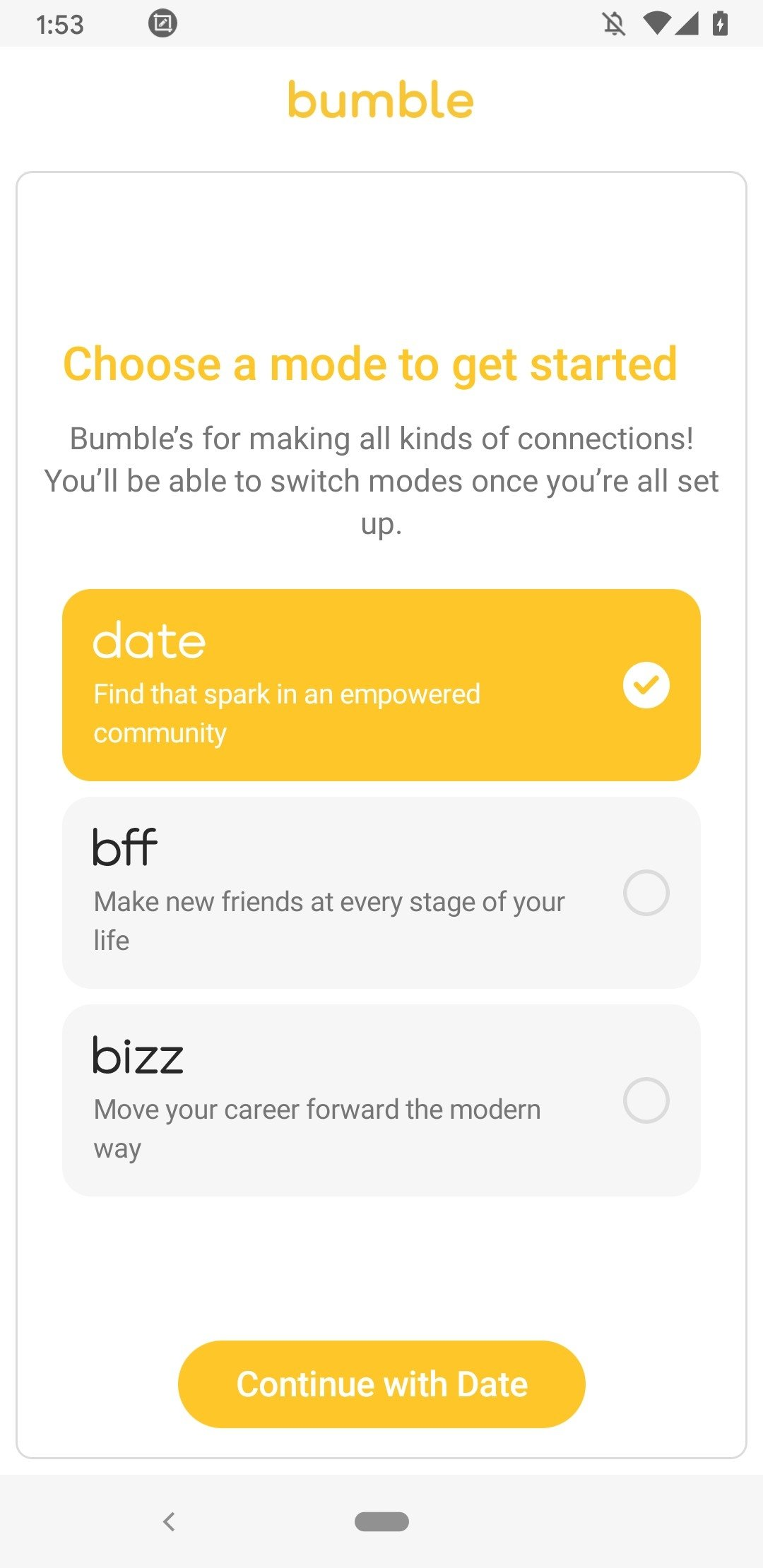 "bumble dating on android She nods ""that can be pretty common on certain dating apps but bumble gives the man a chance to not feel like the aggressor, ."