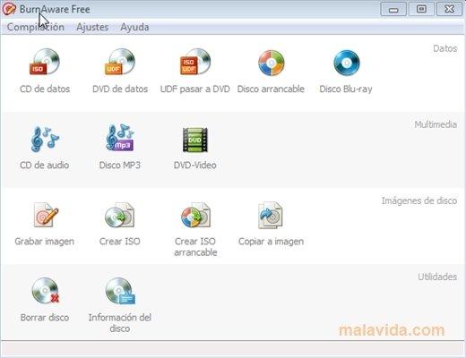 BurnAware 8.2 Free