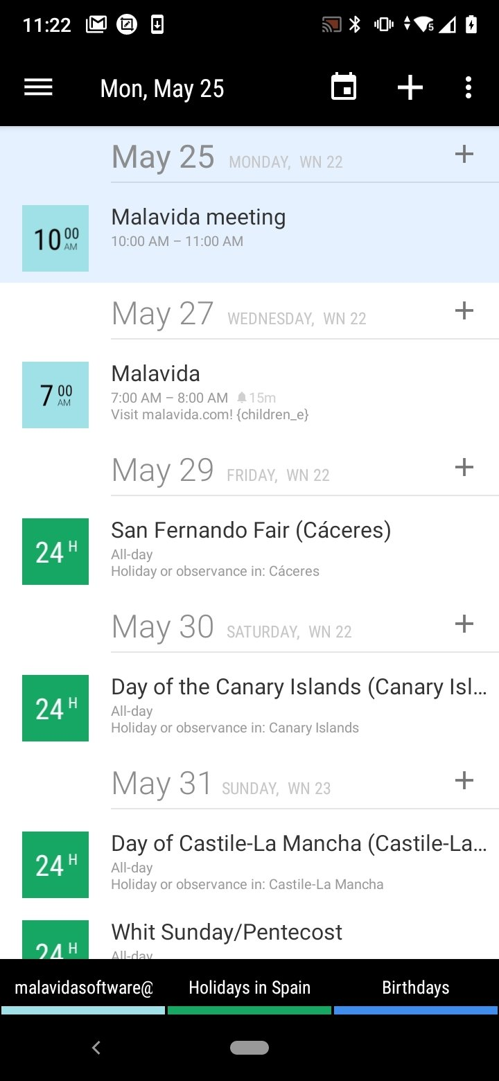 Business Calendar Android image 8