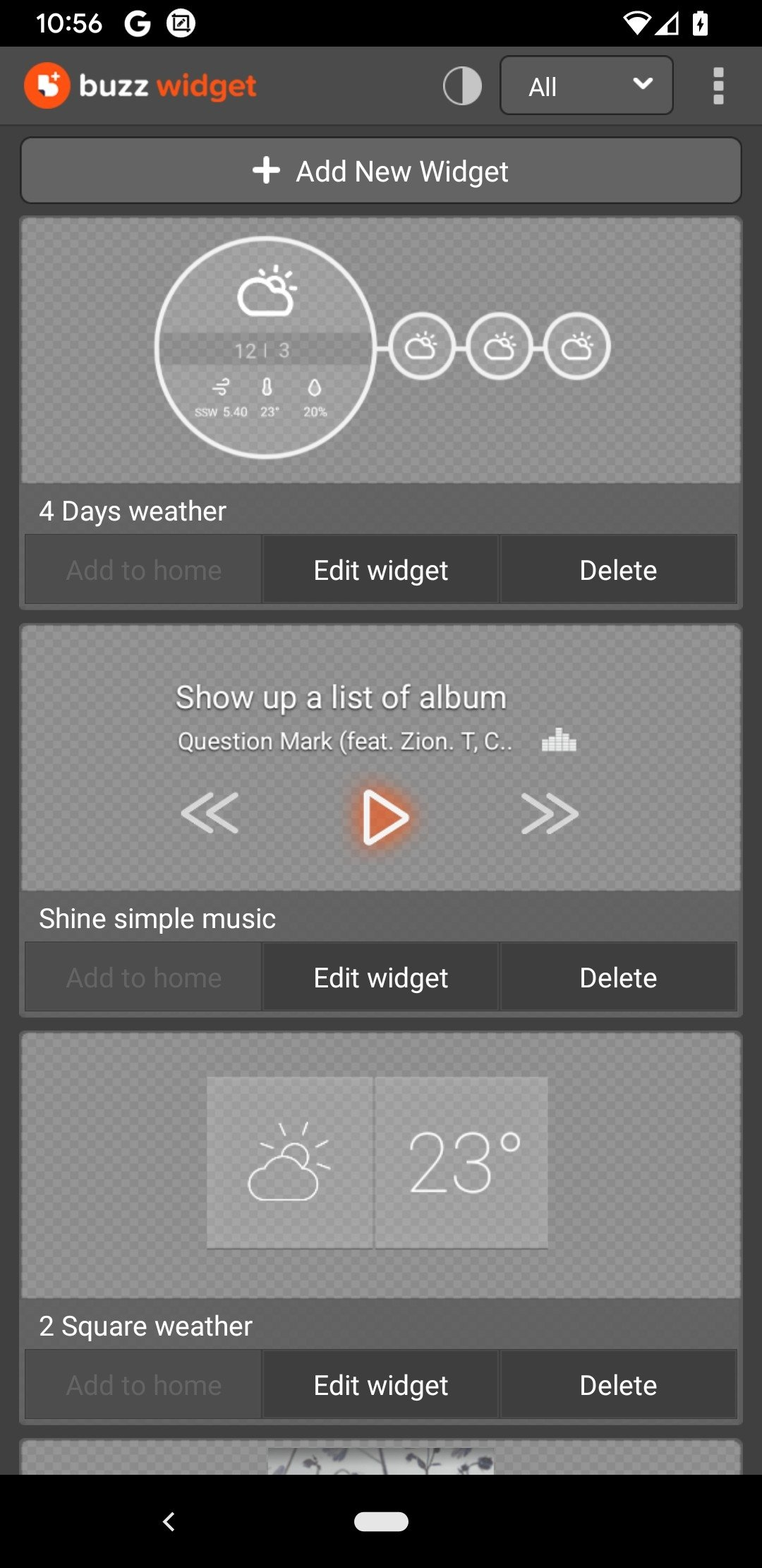 Buzz Widget 2 1 6 6 - Download for Android APK Free