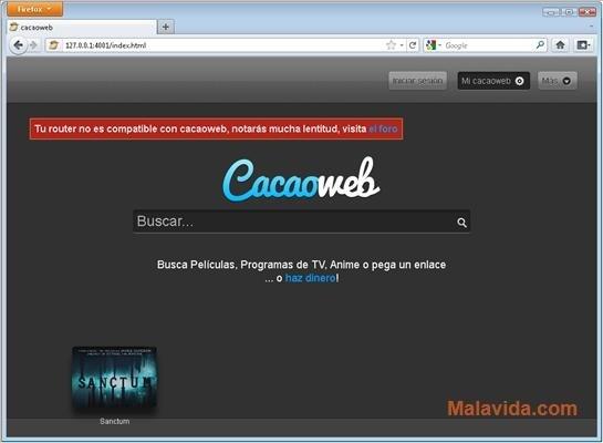 cacaoweb gratis italiano