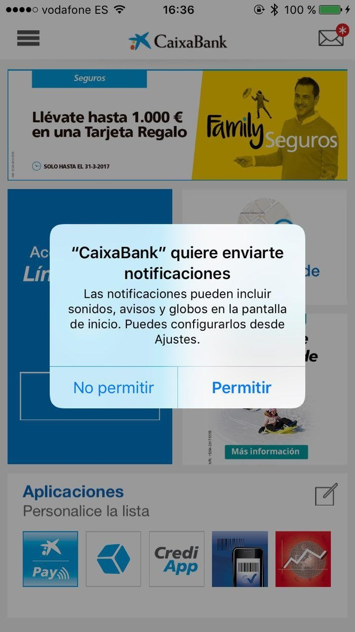 CaixaBank iPhone image 8