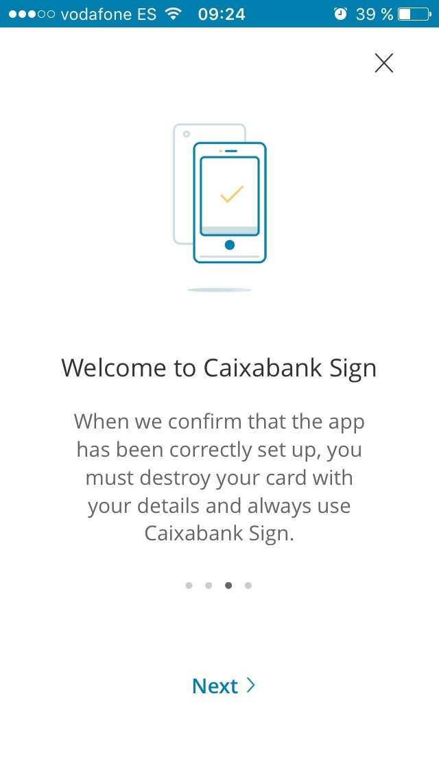CaixaBank Sign - Download for iPhone Free