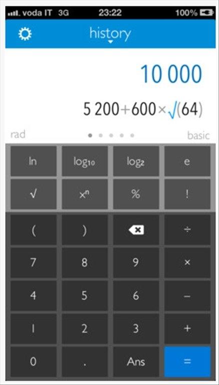 Calc 2M iPhone image 5