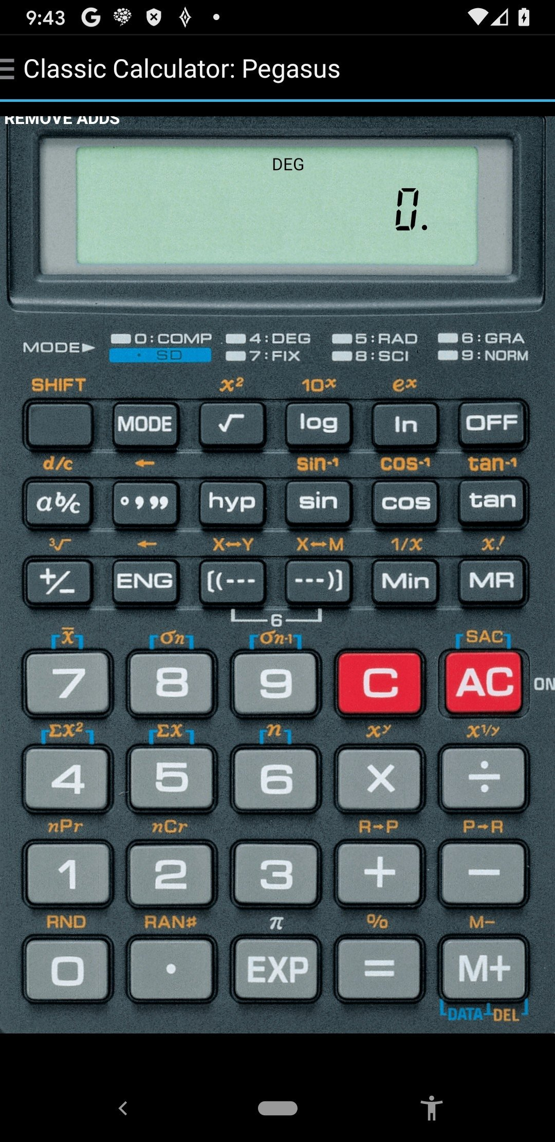 Calculatrice Classique Android image 5