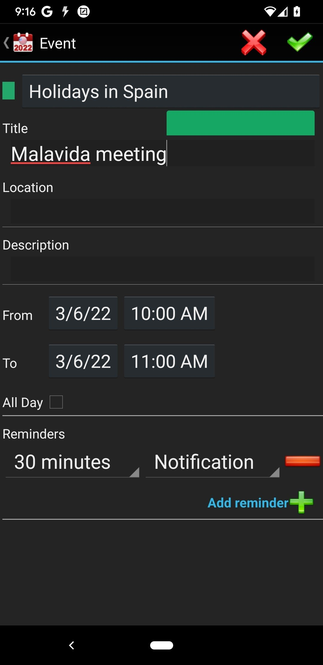 download calendar for android