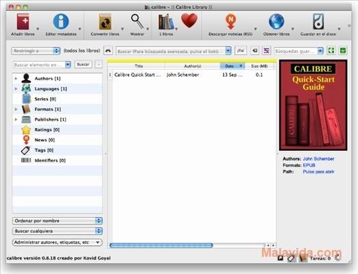 Calibre Mac image 6