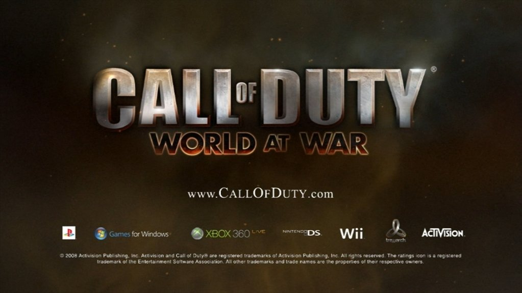 Call of Duty 5 World At War - Download for PC Free