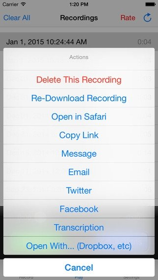 Call Recorder - Download for iPhone Free
