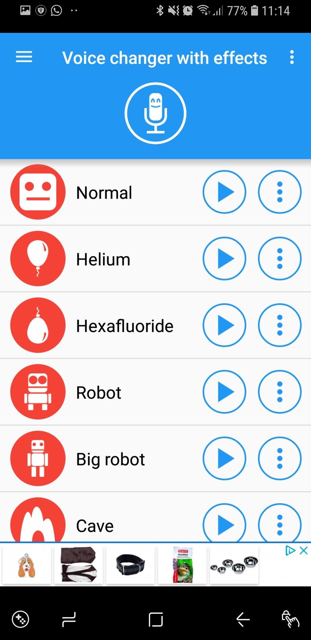 Changeur de voix Android image 5