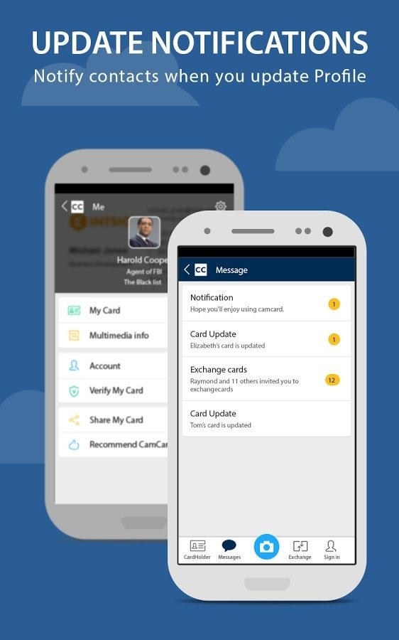 Tlcharger CamCard 715520180428 Android