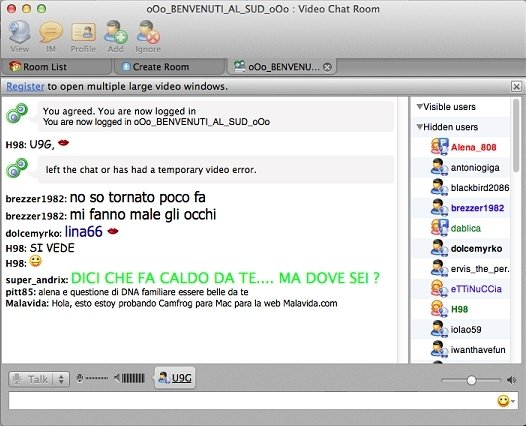 Download Camfrog Video Chat 2 9 3277 Mac Free