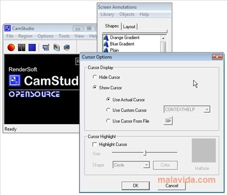 gratuitement camstudio pour windows 7