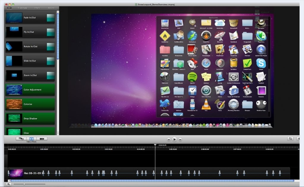 Camtasia Mac image 3